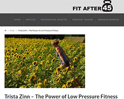 """The Power of Low Pressure Fitness"" with Trista Zinn"