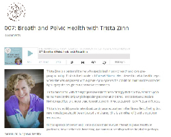Breath and Pelvic Health with Trista Zinn
